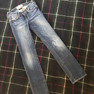 Abercrombie girls Maddy jeans.